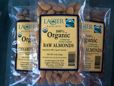 Roasted Almonds (8 oz.)